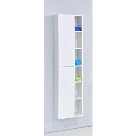 """Best-design Best-Design """"Huza"""" hoge-kolomkast L&R 40x170 cm glans-wit"""
