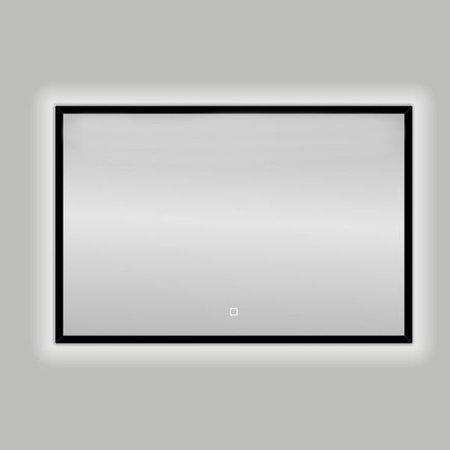 "Best-design Best-Design Nero ""Black-Solaro"" LED spiegel B=120 x H=80cm"