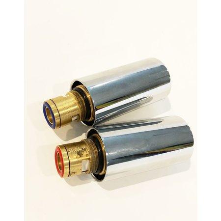 Best-design Best-Design paar binnenwerk + knop koud & warm tbv:Strong art.3804520