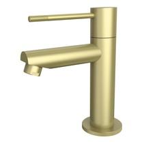 "Best-Design ""Nancy-Ribera"" Toiletkraan mat-goud"