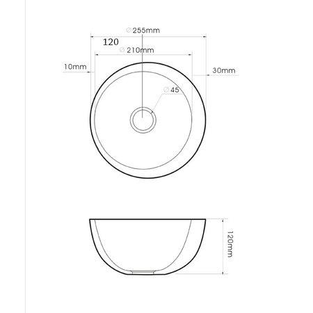 """Best-design Best-Design """"Round"""" fontein diam: 25cm"""