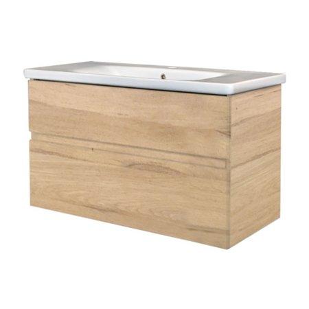 """Best-design Best-Design """"Quick-Greeploos-Oceanic"""" meubel onderkast + wastafel 100 cm"""