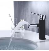 """Best-design Best-Design """"Bicolor-Black"""" wastafelmengkraan """"Nero"""" zwart/chroom"""