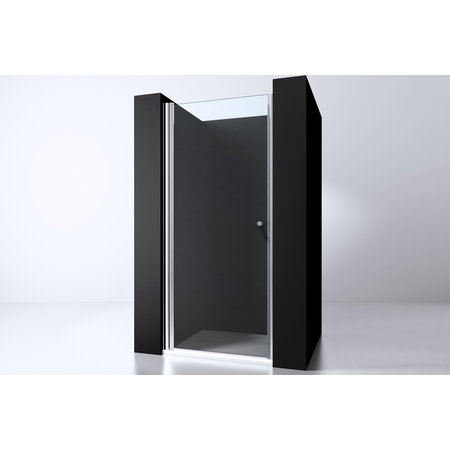 "Best-design Best-Design ""Erico"" nisdeur met profiel 87-90cm H=200cm NANO glas 6mm"