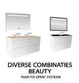 "Best-design Best-Design ""Beauty-100-Glans-Wit-Greeploos"" meubel onderkast"