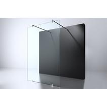 "Best-Design ""Erico-Free-Standing"" vrijstaande wand 120x200cm NANO glas 8mm"