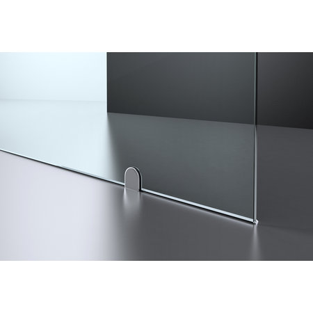"""Best-design Best-Design """"Erico-Free-Standing"""" vrijstaande wand 120x200cm NANO glas 8mm"""