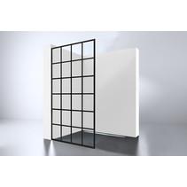 "Best-Design ""Black 900 screen"" inloopdouche Walk-In 900x2000x10mm"