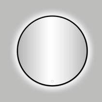 """Best-Design Nero """"Venetië"""" ronde spiegel zwart incl.led verlichting Ø 120 cm"""