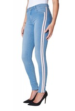 2ND ONE NICOLE 861 BLUE UTILITY FLEX JEANS