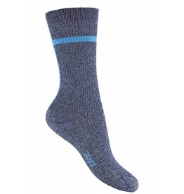 JUST FEMALE CORALIE SOCKS BLUE STRIPE