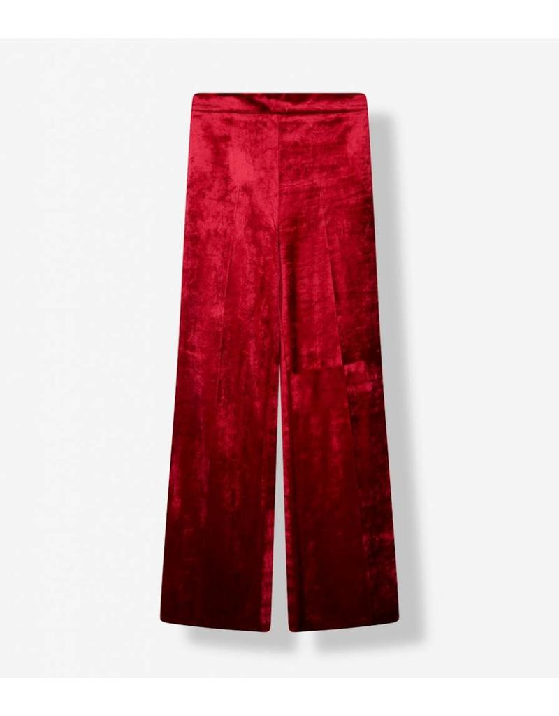 ALIX THE LABEL VELVET PANTS