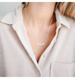 UPSTREAM NECKLACE SILVER