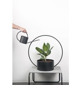 XL BOOM O-COLLECTION WATERING CAN BLACK
