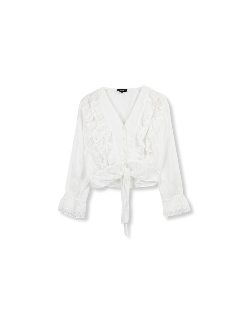 ALIX THE LABEL BLOUSE ROMANTIC RUFFLE