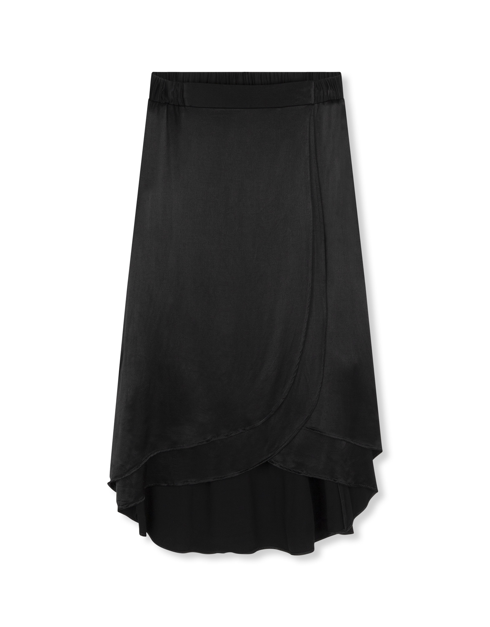 ALIX THE LABEL SKIRT SATIN