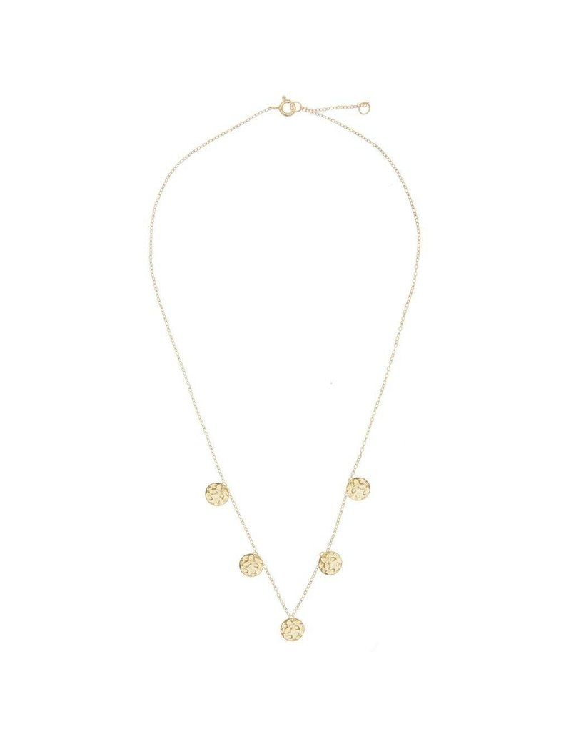 NECKLACE ROMA COINS GOLD