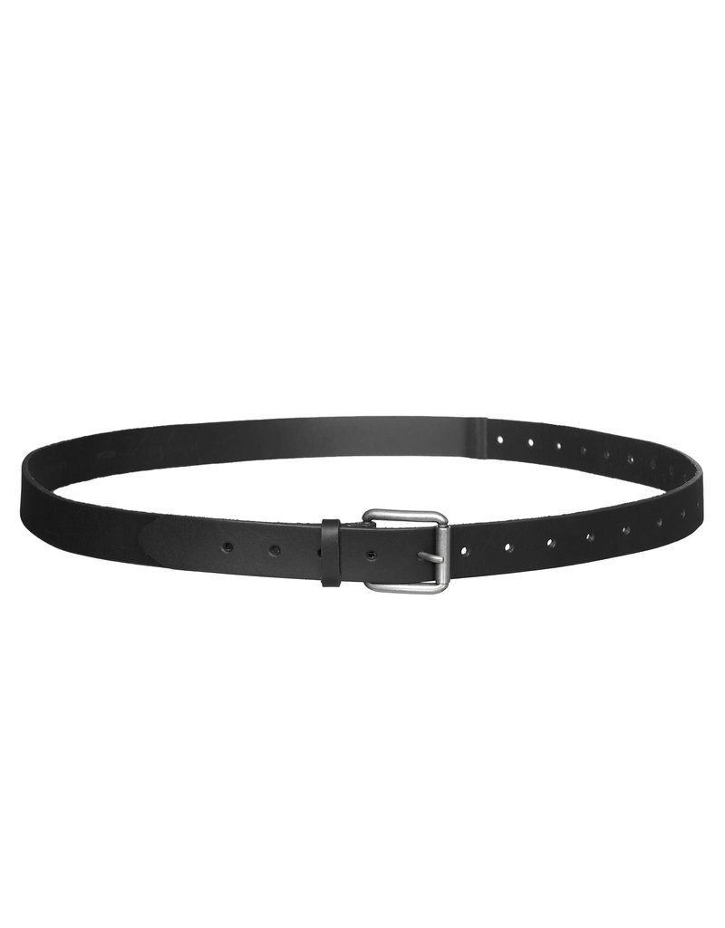 BELT LEATHER ALEX BLACK
