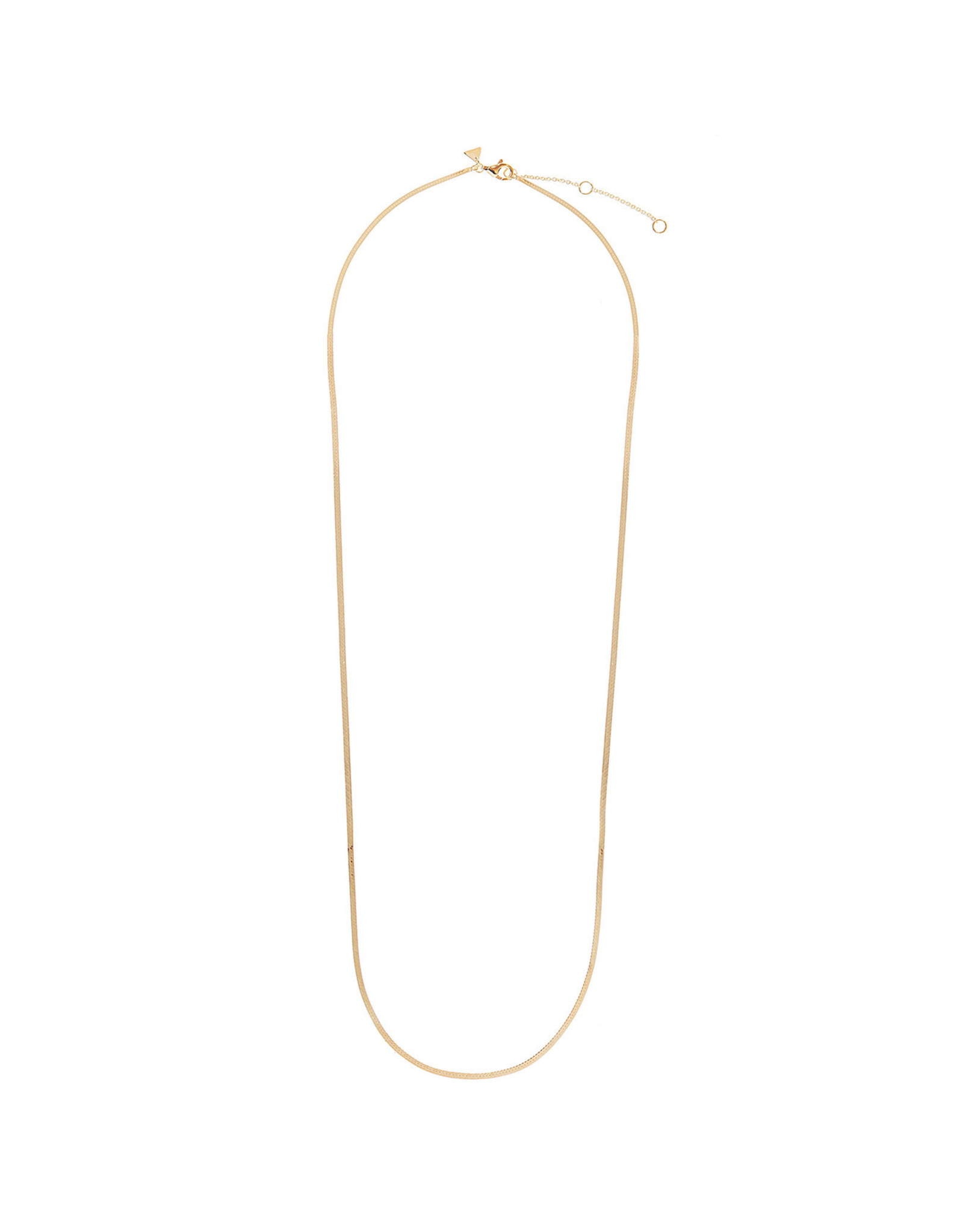 NECKLACE ROMEE SNAKE CHAIN 51 CM GOLD