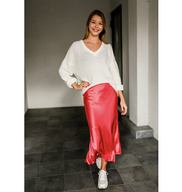 LIV THE LABEL MIDI SKIRT DIRAND