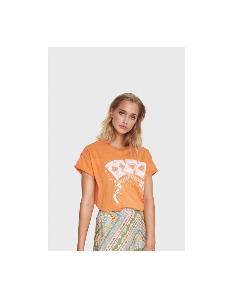 ALIX THE LABEL T-SHIRT VINTAGE PLAYING CARDS