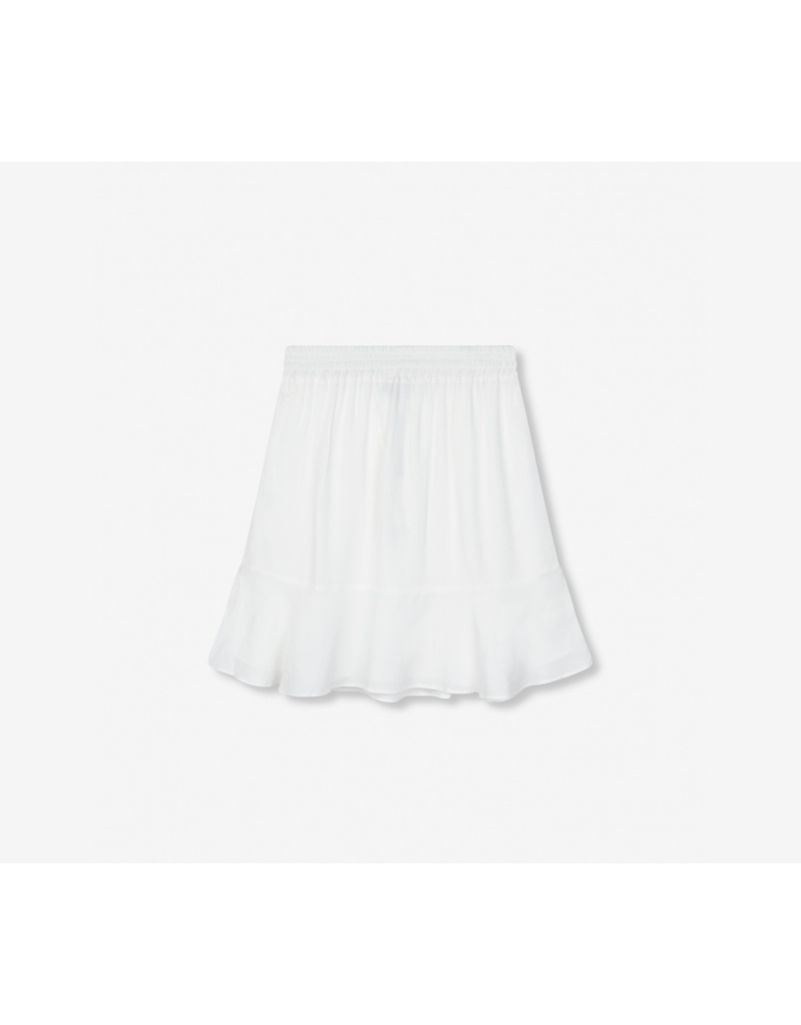 ALIX THE LABEL SKIRT ALIX VISCOSE WHITE