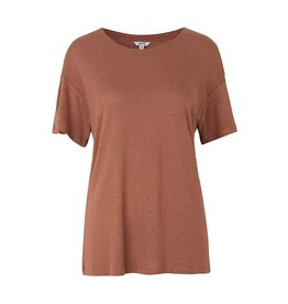MBYM T-SHIRT MIKKI DUSTY CEDAR