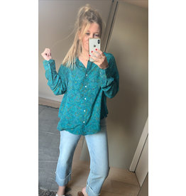 SISSEL EDELBO BLOUSE LUCY GREENO TAILLE UNIQUE