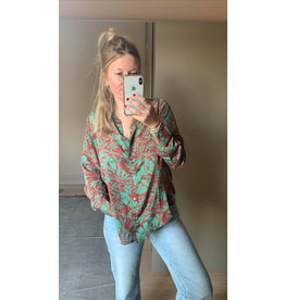 SISSEL EDELBO BLOUSE LUCY FOREST TAILLE UNIQUE