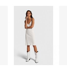 ALIX THE LABEL SLIP DRESS OFF WHITE