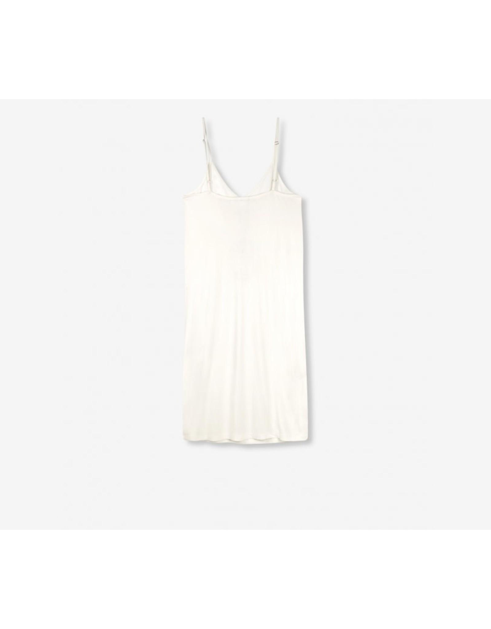 ALIX THE LABEL SLIP DRESS OFF WHITE