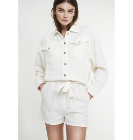 ALIX THE LABEL JACKET LINEN OFF WHITE