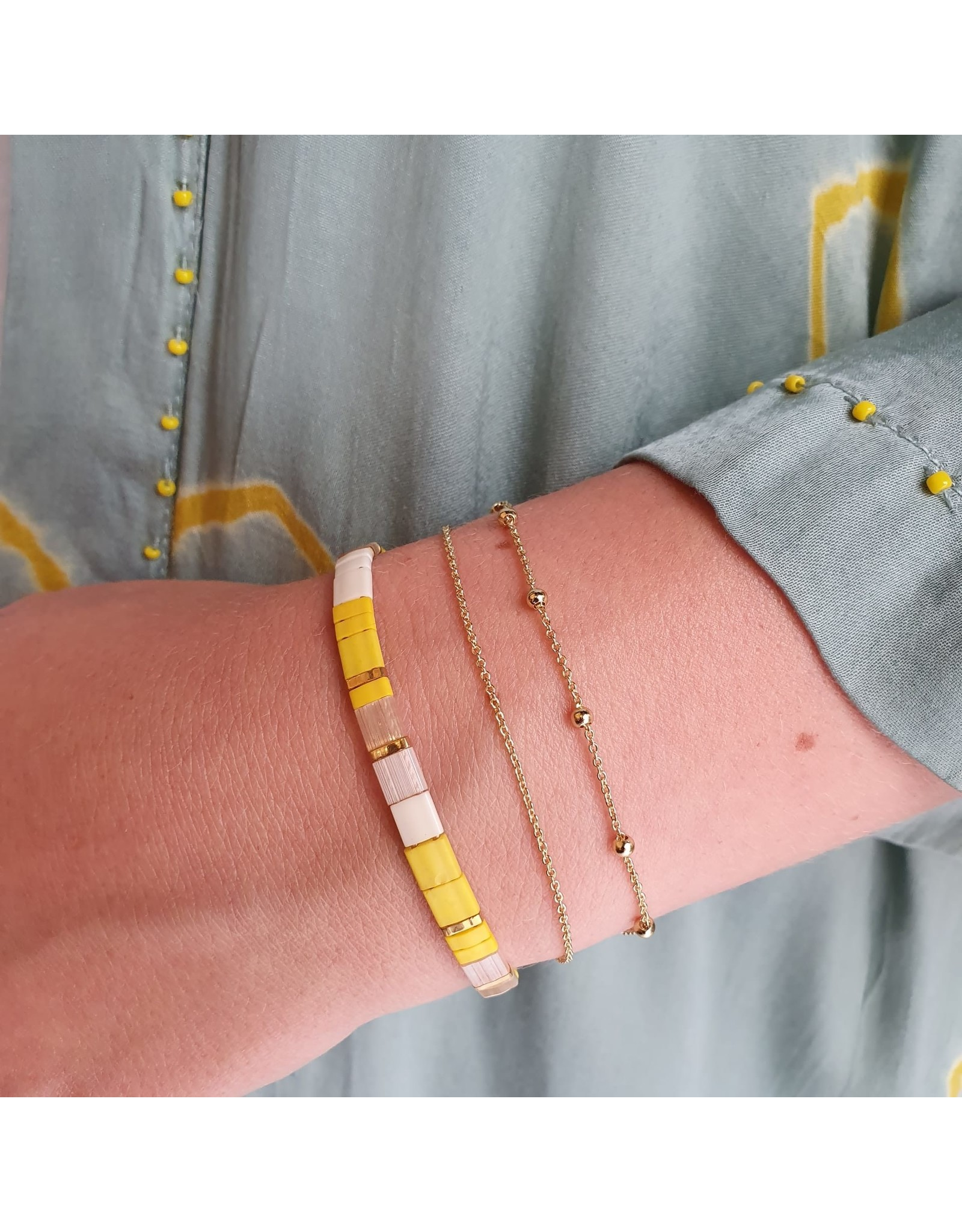 BRACELET HUGO BASIC GOLD