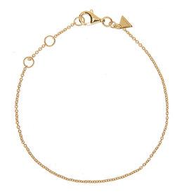BRACELET HUGO BASIC GOLD