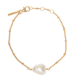 BRACELET HARRY BAROQUE PEARL GOLD