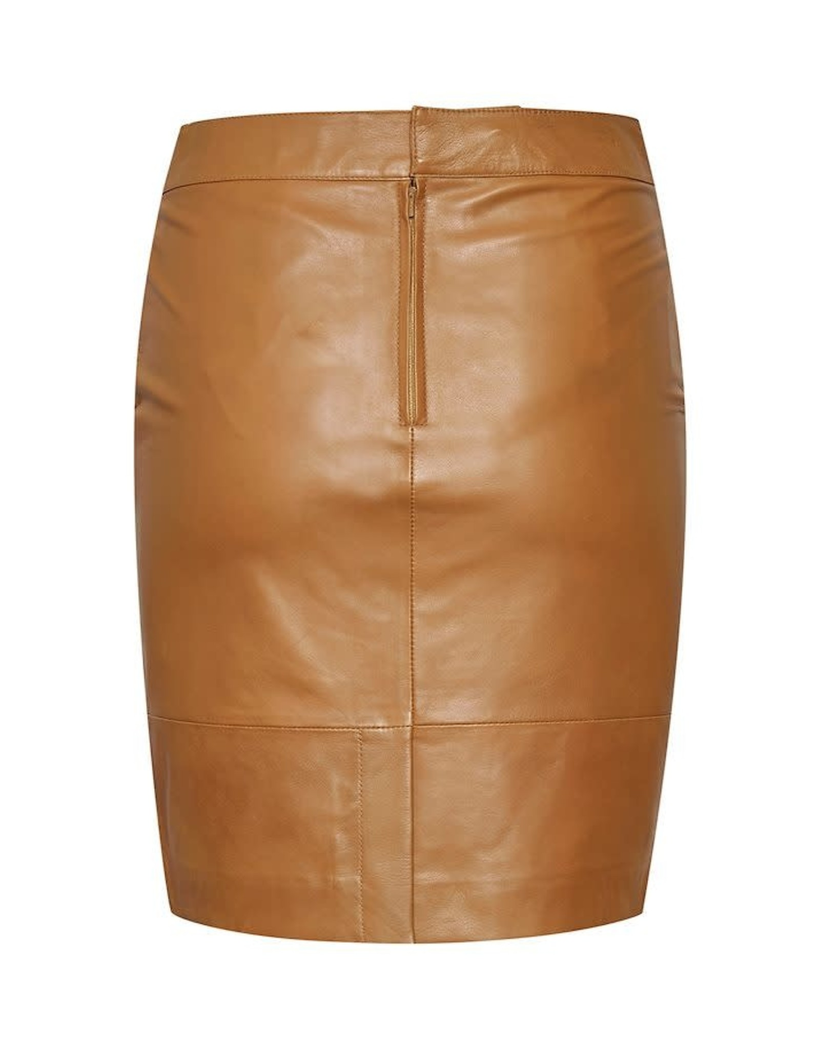GESTUZ SKIRT MINI CAMEL