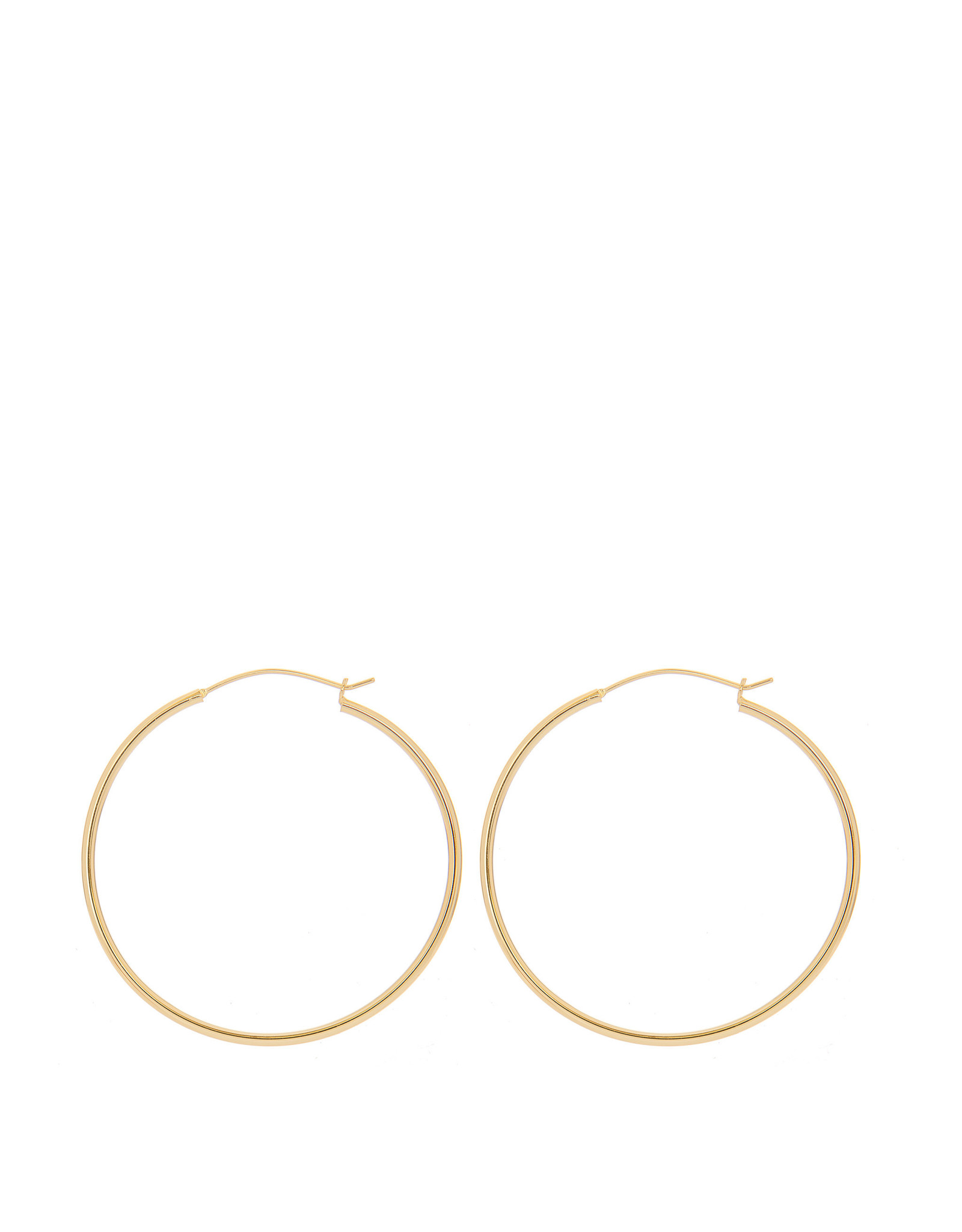 EARRING JADA HOOPSET 50mm GOLD