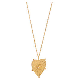NECKLACE ROSA HEART