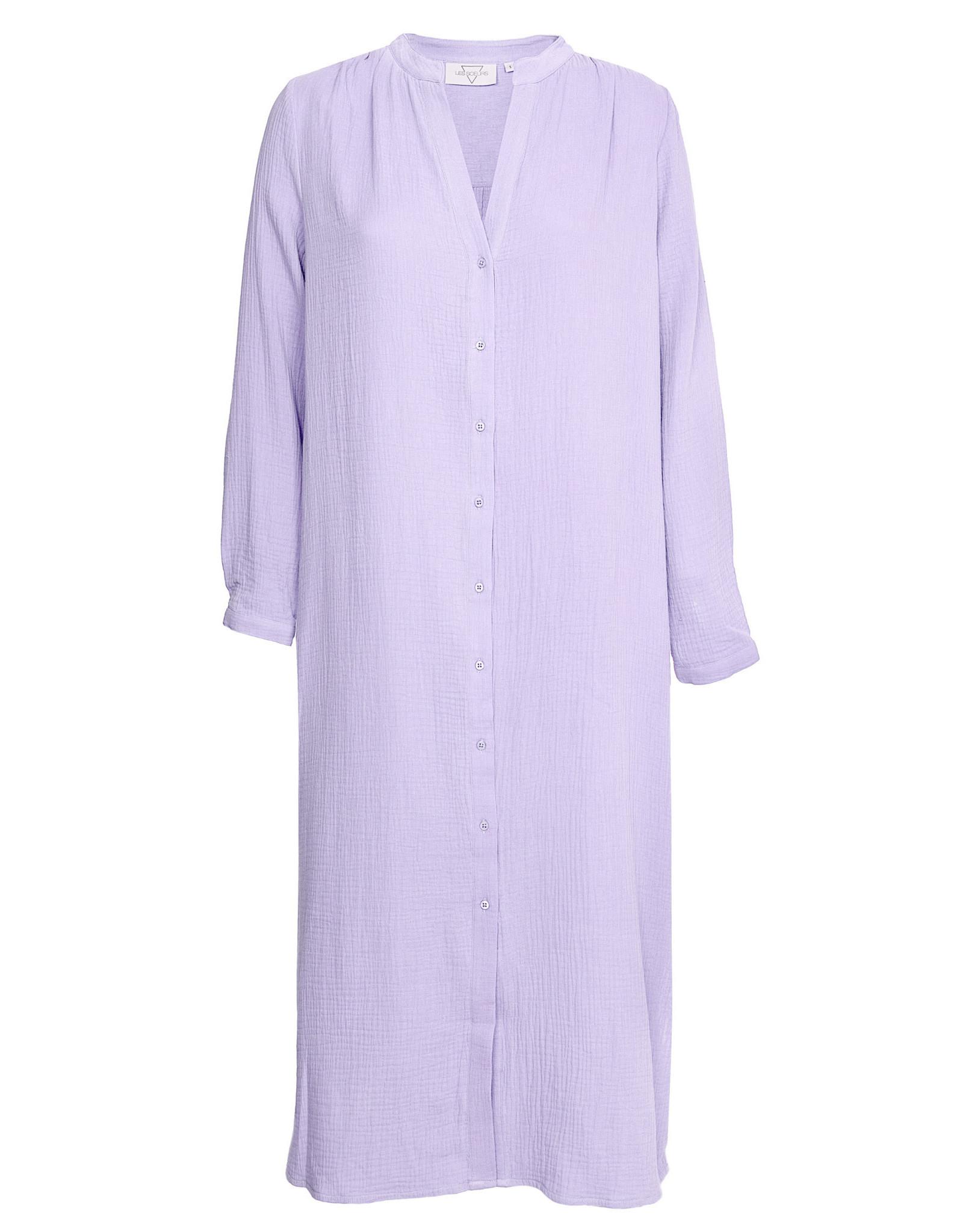 LES SOEURS DRESS BOAS LILA