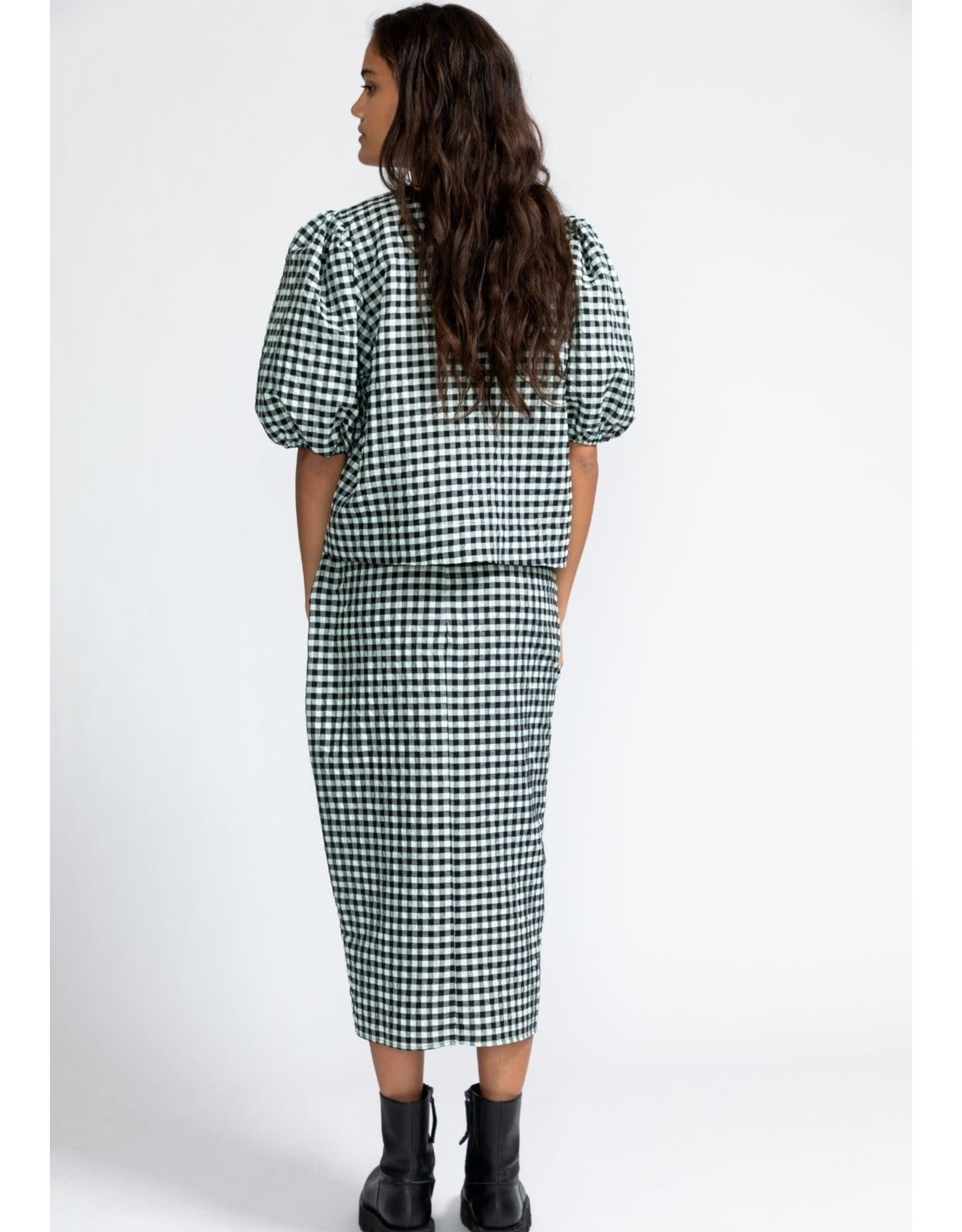 LIV THE LABEL TOP PUFFED MINT