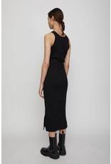 JUST FEMALE RANCHO TANK DRESS BLACK