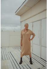 LES SOEURS KNIT DRESS BEIGE