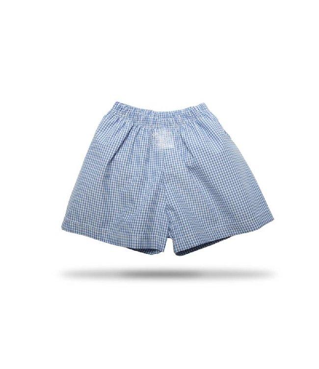 "Zewi bébé-jou Badehose ""Boxer"" mit Auslaufschutz blau"