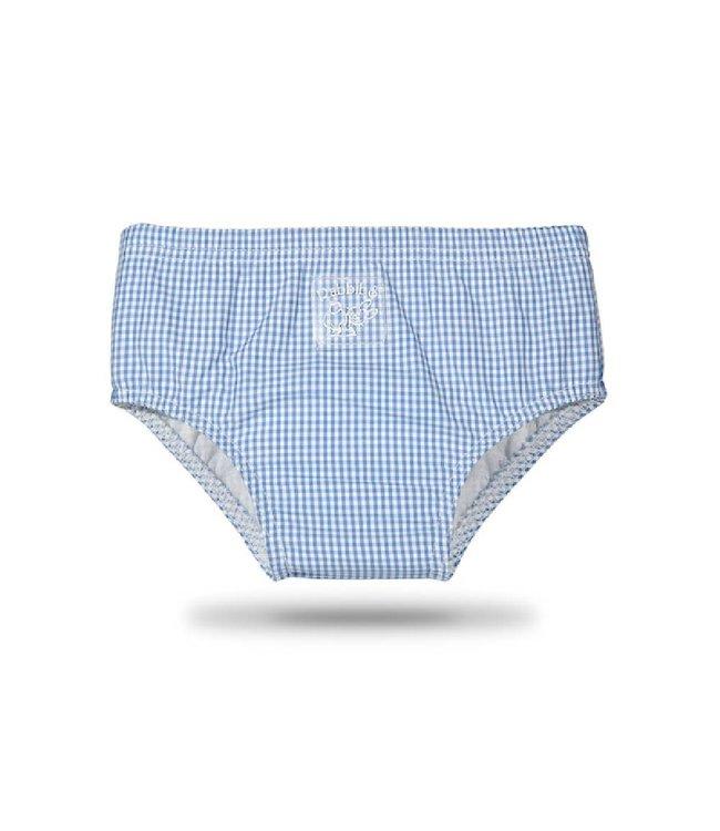 Zewi bébé-jou Badehose mit Auslaufschutz blau