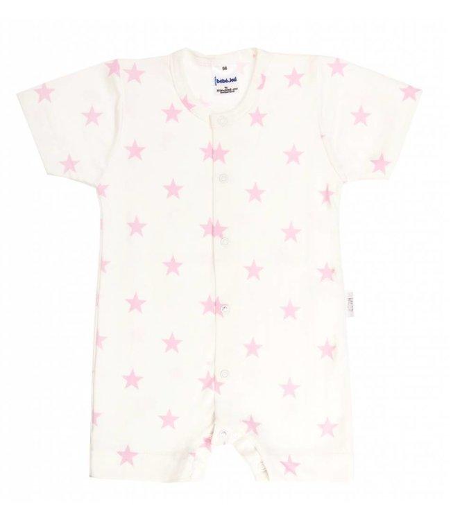 Zewi bébé-jou Sommerkombi white/rose Stars