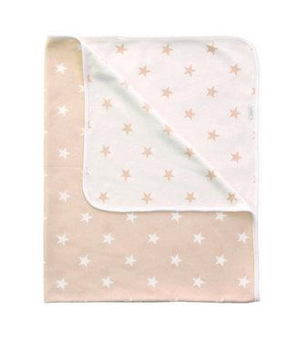 Zewi bébé-jou Kuscheldecke Stars beige
