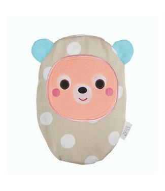 Zewi bébé-jou Traubenkernkissen Bär