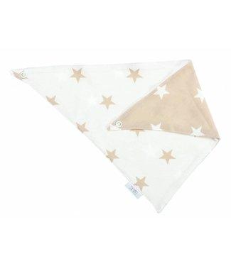 Zewi bébé-jou Halstuch beige Stars