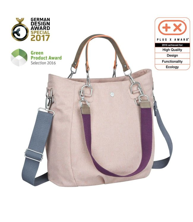 Lässig Wickeltasche Mix'n Match rose