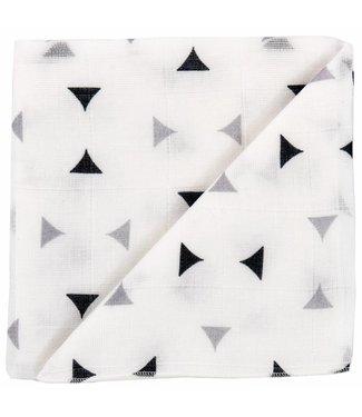 Zewi bébé-jou Baby-Gaze Dreiecke grau